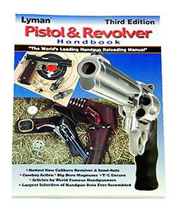 LYMAN PISTOL & REVOLVER HANDBOOK 3RD EDITION - for sale