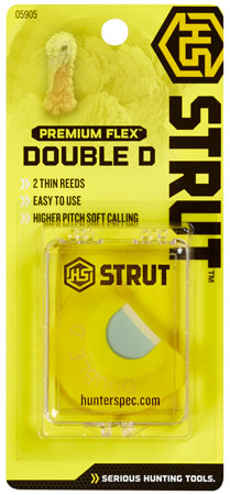 HS STRUT TURKEY CALL DIAPHRAGM PREM FLEX DOUBLE D - for sale