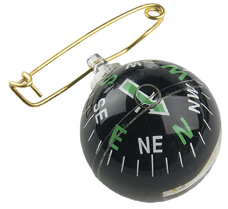 ALLEN COMPASS BLK PIN ON BALL - for sale
