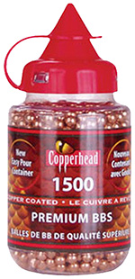 CROSMAN COPPERHEAD BB'S 1500 COUNT - for sale