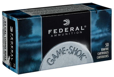 Federal - Game-Shok - .22LR - GAME-SHOK 22LR 38GR CPHP 50/BX for sale