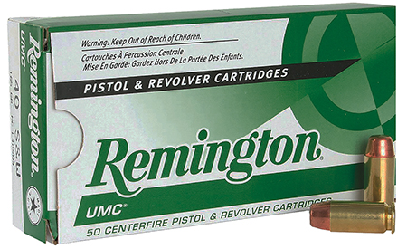 REM AMMO UMC .40SW 165GR. FMC TRUNCATED CONE 50-PACK - for sale
