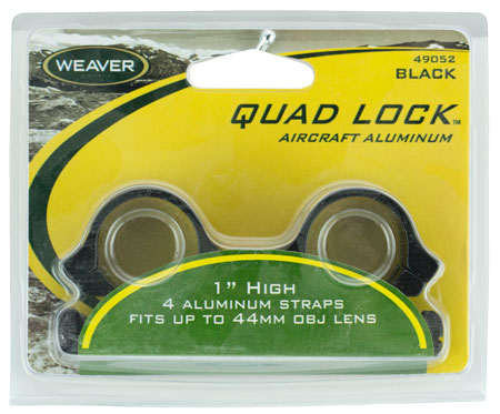 "WEAVER QUAD LOCK RNGS 1"" HI GLOSS - for sale"
