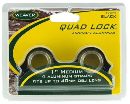 "WEAVER QUAD LOCK RNGS 1"" MED GLOSS - for sale"