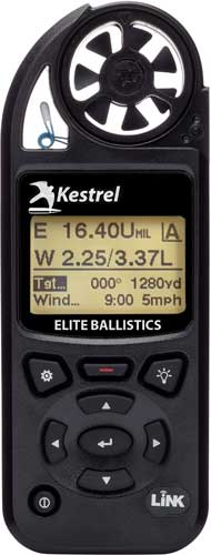 KESTREL ELITE W/BALLISTICS LINK BLK - for sale