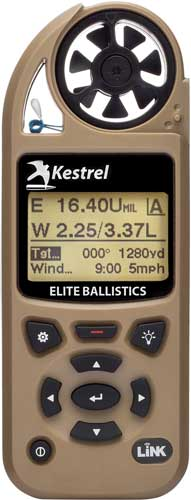 KESTREL ELITE W/BALLISTICS LINK TAN - for sale
