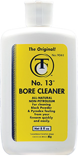 T/C #13 BORE CLEANER SOLVENT 8 OZ. SQUEEZE BOTTLE - for sale