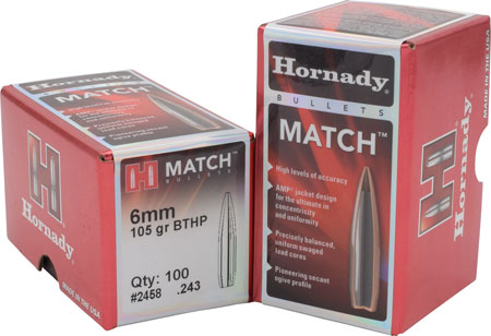 HRNDY MATCH 22CAL .224 75GR 100CT - for sale
