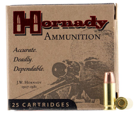 Hornady - Custom - .25 ACP - AMMO 25 AUTO 35GR XTP 25/BX for sale