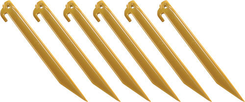 "COLEMAN 9"" ABS TENT STAKES 6 STAKES PER PACK - for sale"