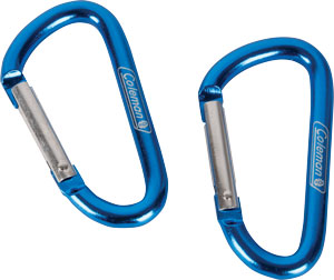 COLEMAN CARABINER DELUXE LINK 2 PER PACKAGE - for sale