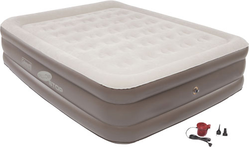 COLEMAN SUPPORTREST PILLOWSTOP PLUS DH QUEEN W/120V COMBO - for sale