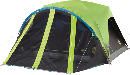 COLEMAN CARLSBAD DOME TENT W/ SCREEN ROOM 4 PERSON 9'X7'X4' - for sale