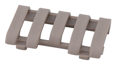 ERGO GRIP RAIL COVER WIRE LOOM 5 SLOT PICATINNY FDE 1PK - for sale