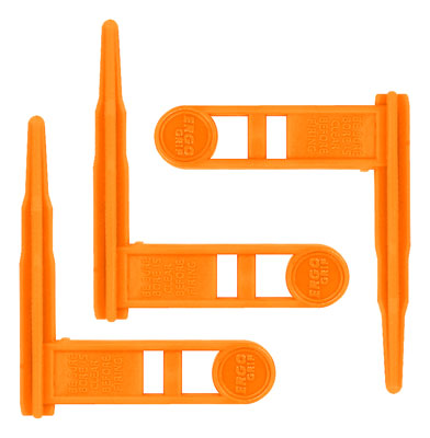 ERGO GRIP CHAMBER SAFETY FLAG FOR RIFLES ORANGE 3-PK - for sale
