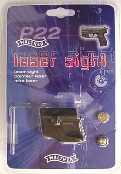 WALTHER P22 LASER RED - for sale