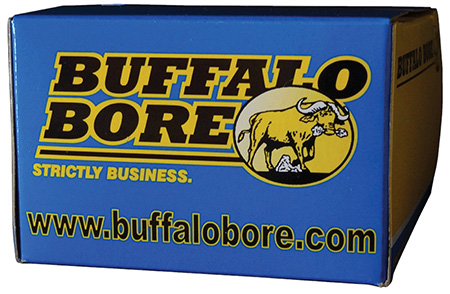 BUFFALO BORE AMMO .32HRM +P 130GR. LEAD SWC 20-PACK - for sale