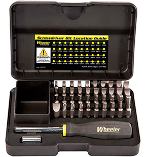 wheeler - Professional Gunsmithing - PRO GUNSMITHING SCREWDRIVER SET 43 PC for sale