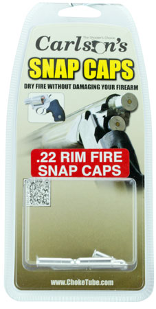 CARLSONS SNAP CAP .22 RIMFIRE ALUMINUM 6PK - for sale