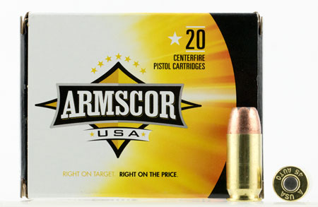 ARMSCOR 45ACP 230GR JHP 20/500 - for sale