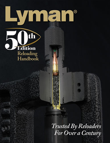 LYMAN 50TH RELOADING HANDBOOK HARDCOVER 528 PAGES - for sale