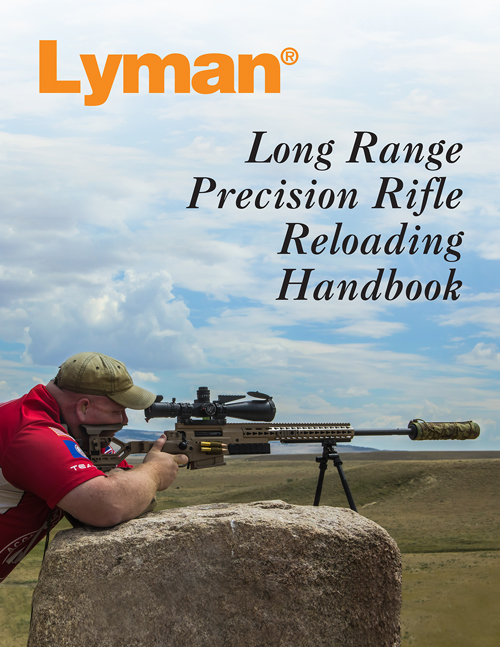 LYMAN RELOADING HANDBOOK LONG RANGE PRECISION RIFLE 132-PGS. - for sale