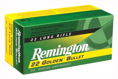 REM AMMO .22 LONG RIFLE 50-PK HIGH VELOCITY 40GR. PLATED LRN - for sale