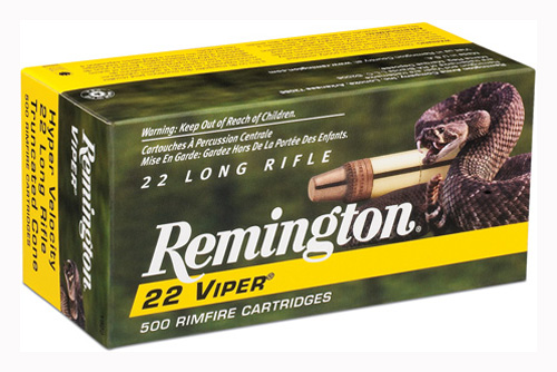 REM AMMO .22 LONG RIFLE 50-PK VIPER 36GR. TRUNCATED SOLID - for sale