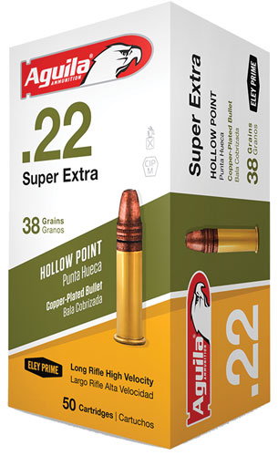 AGUILA 22LR HV 38GR HP 50/5000 - for sale