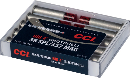 CCI 38/357 #4 SHOTSHELL10/200 - for sale