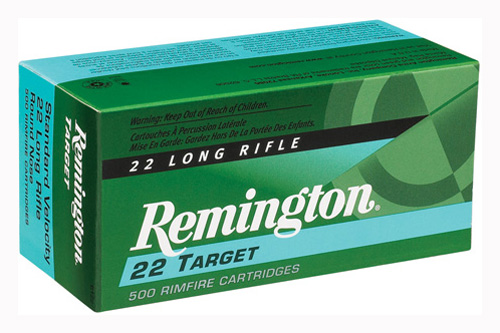 REM AMMO .22 LONG RIFLE 50-PK STD. VELOCITY TARGET 40GR. RN - for sale