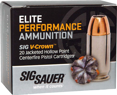 Sig Sauer - Elite V-Crown - 10mm Auto for sale