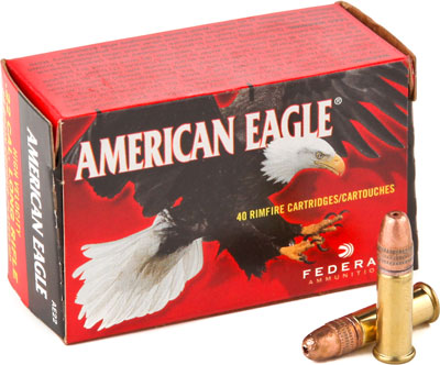 FED AMMO .22LR 1260FPS. 38GR. HOLLOW POINT 40PK - for sale