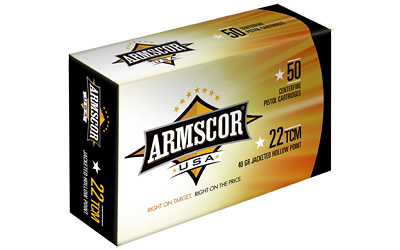 ARMSCOR 22TCM 40GR JHP 50/1000 - for sale