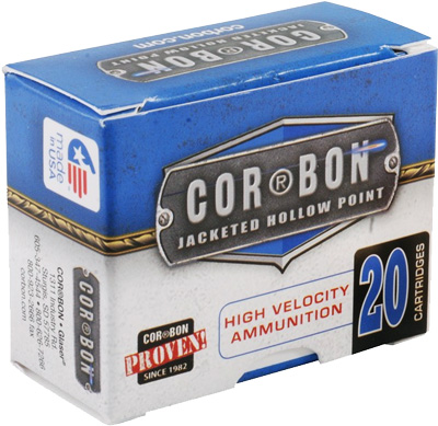 CORBON AMMO .40SW 165GR. JHP 20-PACK - for sale