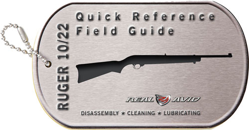 REAL AVID RUGER 10/22 FIELD RUGER 10/22 MAINTENANCE CARDS - for sale