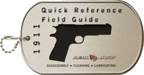 REAL AVID 1911 FIELD GUIDE 1911 MAINTENANE CARDS - for sale