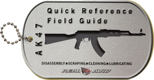REAL AVID AK47 FIELD GUIDE AK47 MAINTENANCE CARDS - for sale