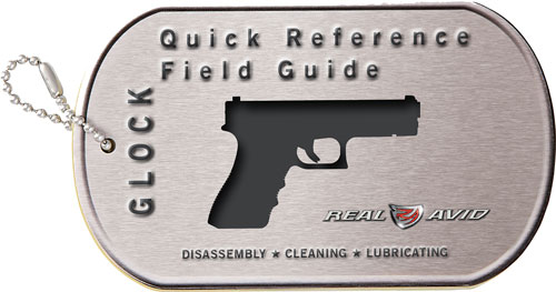 REAL AVID GLOCK FIELD GUIDE GLOCK MAINTENANCE CARDS - for sale