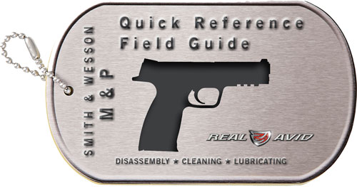 REAL AVID S&W M&P FIELD GUIDE S&W M&P MAINTENACE CARDS - for sale