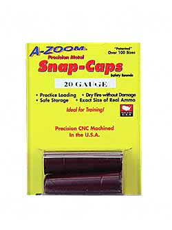 AZOOM SNAP CAPS 20GA 2/PK - for sale