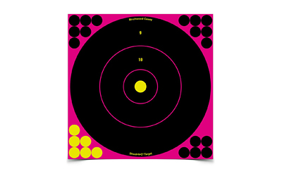 birchwood casey - Shoot-N-C - SHT-N-C 12IN RND TGT 5PK PINK for sale