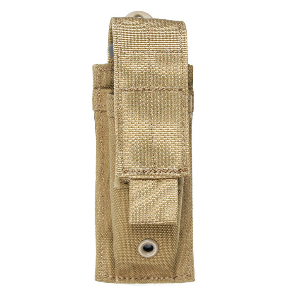 Blackhawk - 39CL06CTUSA - STRIKE SINGLE PISTOL MAG POUCH TAN USA for sale