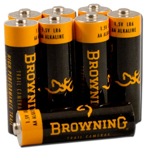 Trail Camera AA Alkaline Batteries - for sale