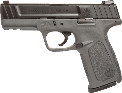 "S&W SD9 9MM 16RD 4"" GRY FS 2MAGS - for sale"