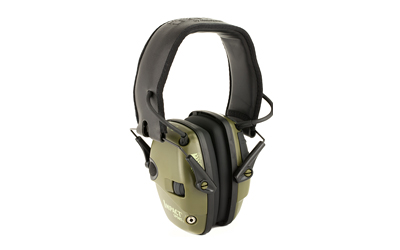 howard leight - Impact Sport - IMPACT SPORT GREEN ELEC EARMUFF NRR 22 for sale
