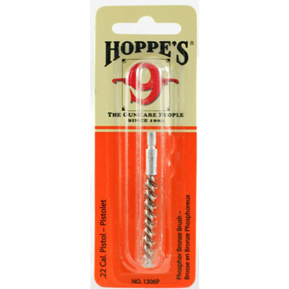 hoppe's - Phosphor Bronze - BRONZE 22 CAL PISTOL BORE BRUSH for sale