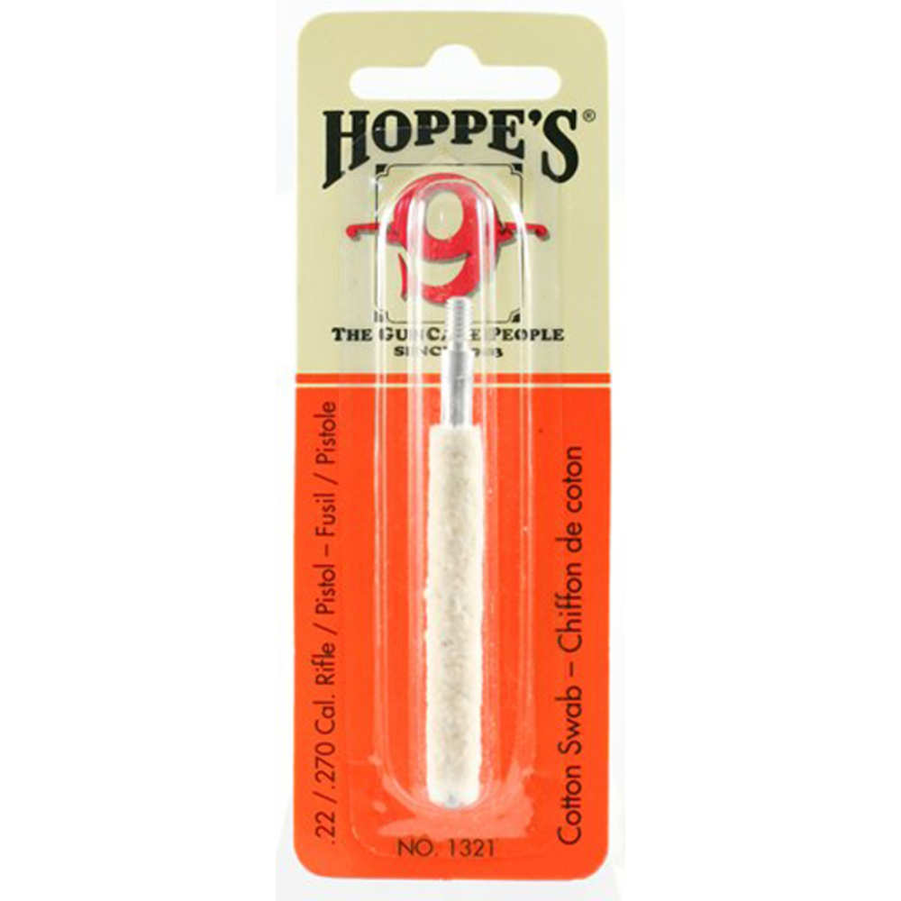 hoppe's - Cleaning Swabs - COTTON 22-270 CAL CLEANING SWAB for sale