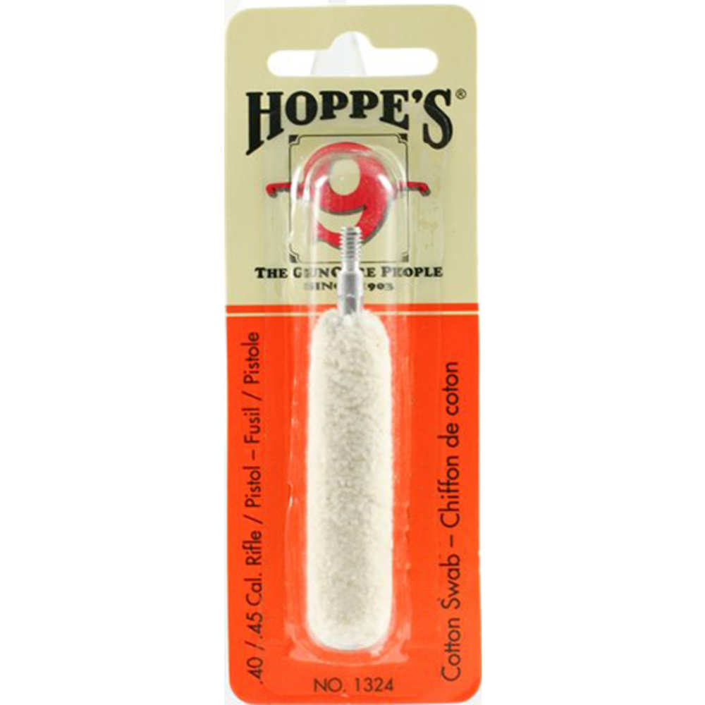 hoppe's - Cleaning Swabs - COTTON 40-45 CAL CLEANING SWAB for sale