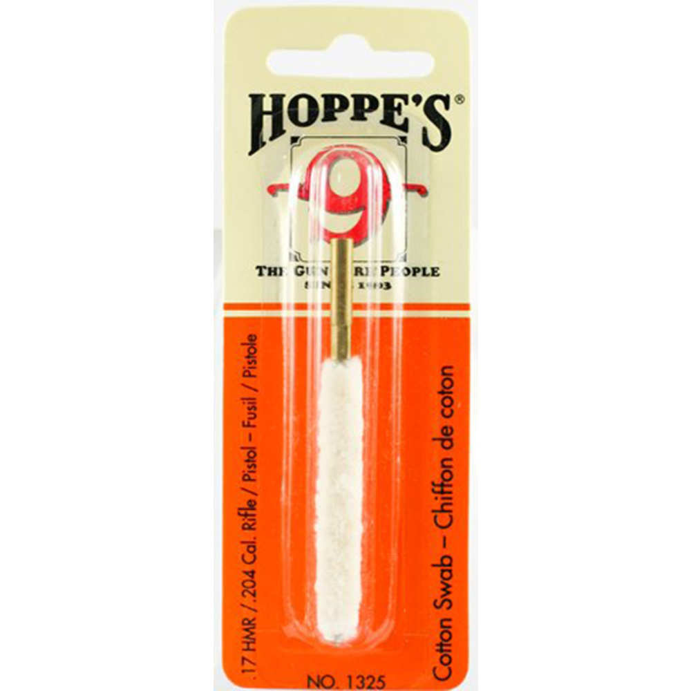 hoppe's - Cleaning Swabs - COTTON 17-20 CAL CLEANING SWAB for sale